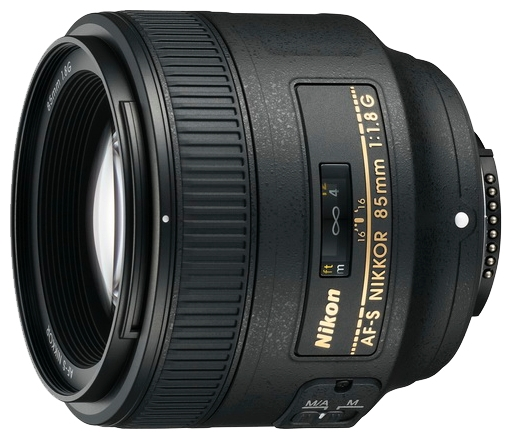 Объектив для фото Nikon 85 mm f/1.8G AF-S Nikkor JAA341DA