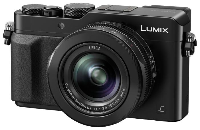 Цифровой фотоаппарат Panasonic Lumix DMC-LX100, черный DMC-LX100EEK