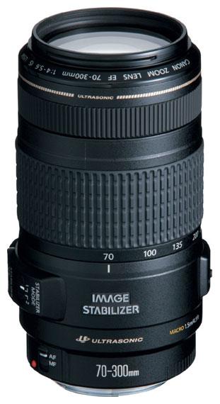 Объектив для фото Canon EF 70-300mm f/4.0 - 5.6 IS USM (0345B006)