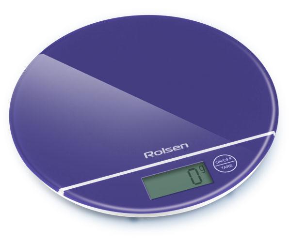 Кухонные весы Rolsen KS-2906 Blue KS-2906BLUE
