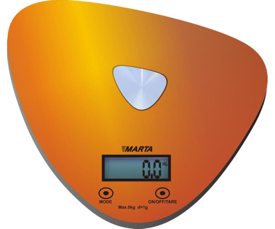 Кухонные весы Marta MT-1632, золотые/блестящие MT-1632 золото/блестящий
