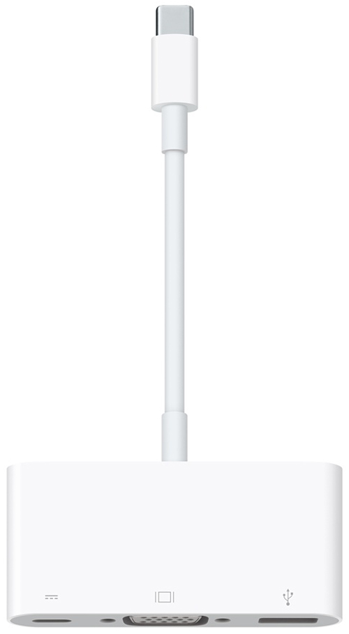 ������ (����) ������� Apple USB-C to VGA Multiport Adapter (MJ1L2ZM/A)