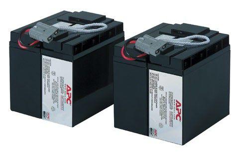 Источник бесперебойного питания батарея аккумуляторная APC RBC55 (12 В, 17 Ач)