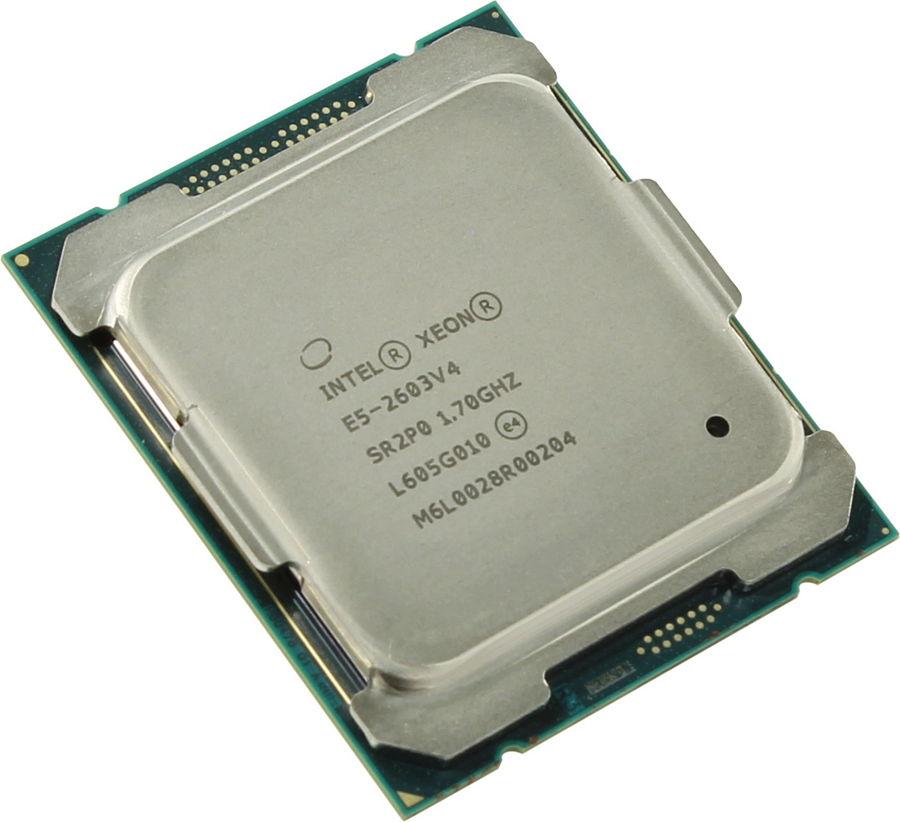 Процессор Intel Xeon E5-2603V4 Haswell-EP (1700MHz, LGA2011-3, L3 15360Kb, Tray) CM8066002032805