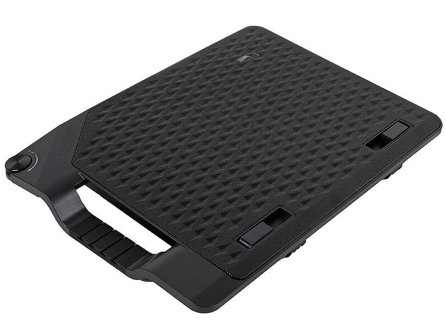 Подставка для ноутбука Cooler-Master NotePal Ergo Stand III (17'', 4x USB) R9-NBS-E32K-GP