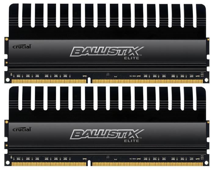 Модуль памяти Crucial BLE2CP4G3D1608DE1TX0CEU (DDR3, 2x4Gb, 1600MHz, CL8, DIMM)