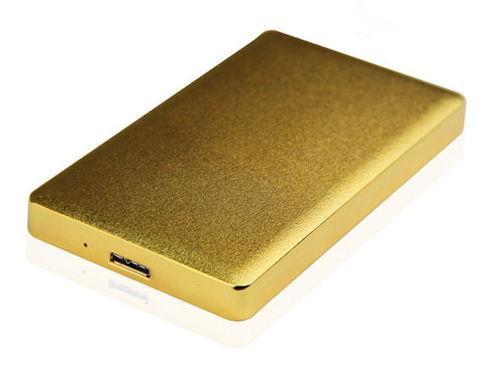 Корпус жесткого диска Agestar 31UB2A15 (2.5'', SATA - microUSB3.1b), золотистый 31UB2A15 GOLD