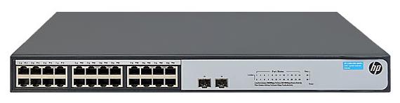 Коммутатор (switch) HP 1420-24G-2S JH018A
