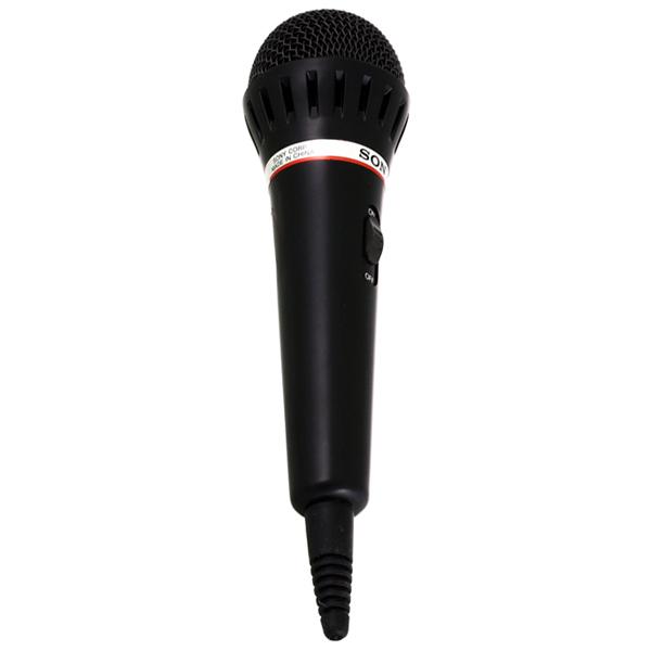 Микрофон для караоке SONY F-V120, моно, динамический, проводной