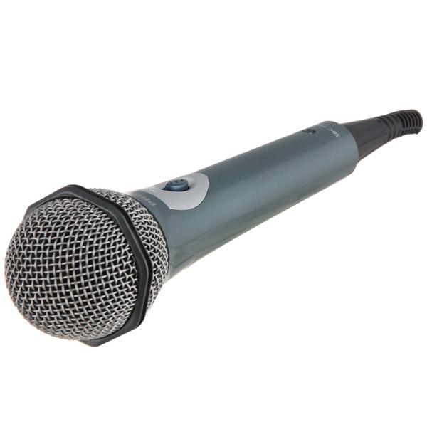 Микрофон мультимедийный Philips SBC MD150/00, моно, динамический, проводной