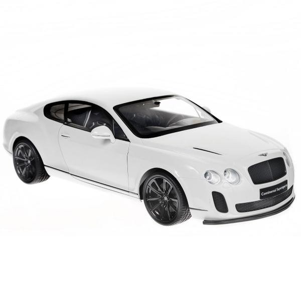 Радиоуправляемая модель Welly Bentley Continental Supersports, белая
