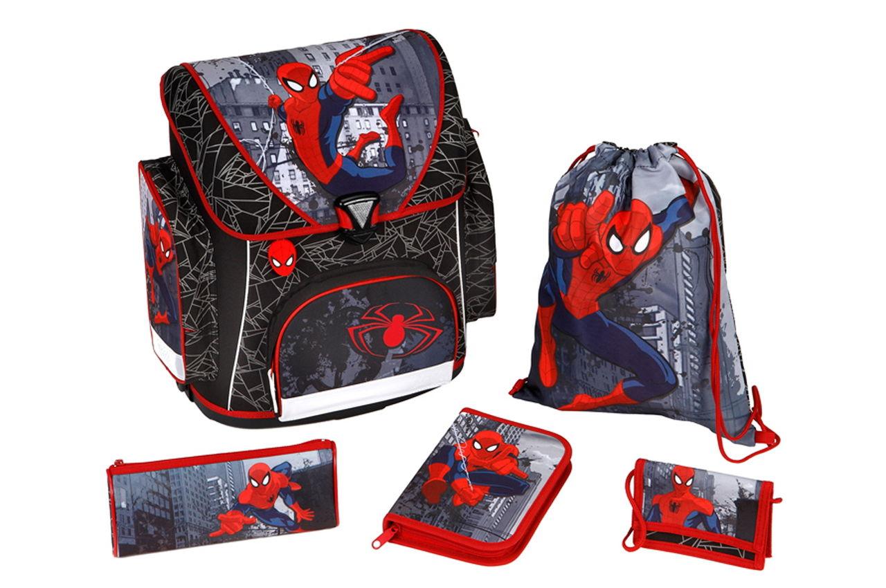 Undercover Ранец с наполнением Spider-Man, 5 позиций