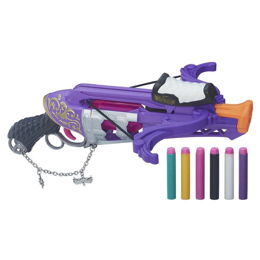 Товар для детей Hasbro nerf n-rebelle чарм арбалет Фортуна, разноцветный