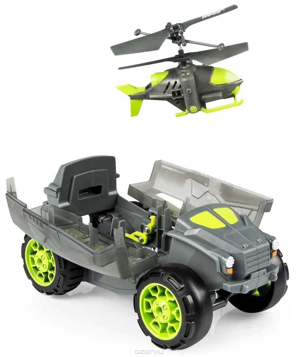 Радиоуправляемая модель Spin-Master Spin Master Air Hogs Бронемашина с вертолетом - разведчиком