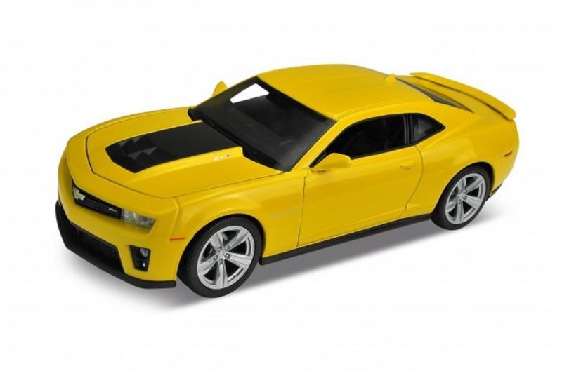 Радиоуправляемая модель Welly р/у модель машины 1:24 Chevrolet Camaro ZL1