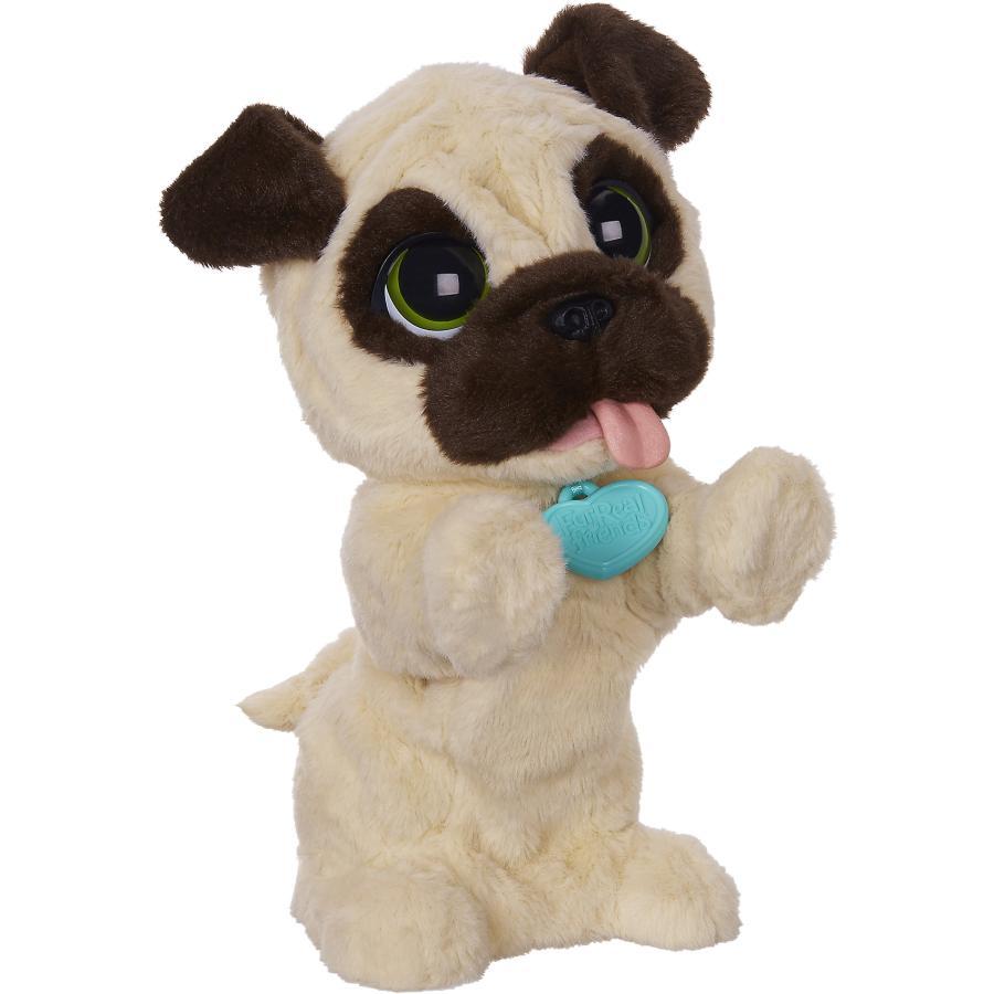Игрушка мягкая Hasbro furreal friends frf, Игривый щенок, бежевая / коричневая B0449