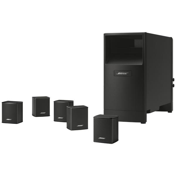 Комплект акустических систем Bose Acoustimass 6 V (5.1ch), чёрные ACOUSTIMASS 6 V BLACK