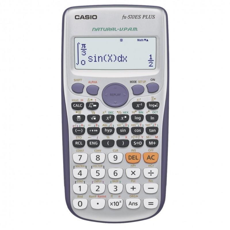 Калькулятор Casio FX-570ESPLUS 10-разрядный, серый