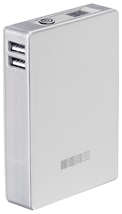 Аксессуар для телефона InterStep PB104002UW внешний аккумулятор белый 10400 mAh IS-AK-PB10402UW-000B201