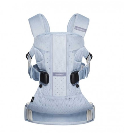 "BabyBjorn ""One Air"" Ice-blue fish"