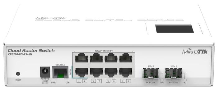 ������ WiFi MikroTik CRS210-8G-2S+IN