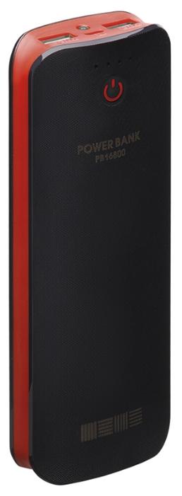 Аксессуар для телефона InterStep PB16800, красный/черный IS-AK-PB16800BR-000B201
