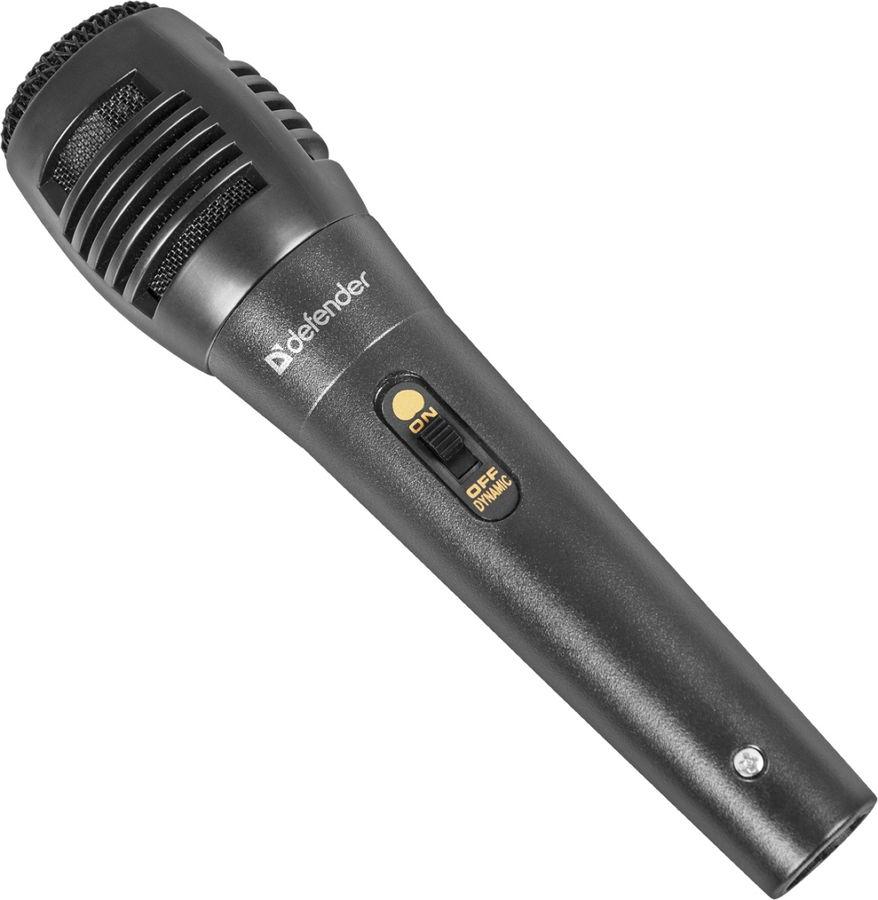 Микрофон мультимедийный Defender MIC-129 (динамический), чёрный D64129