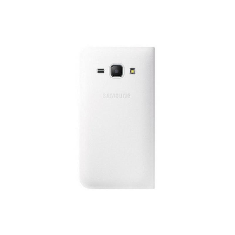 Samsung Galaxy J1 mini Flip Cover, белый