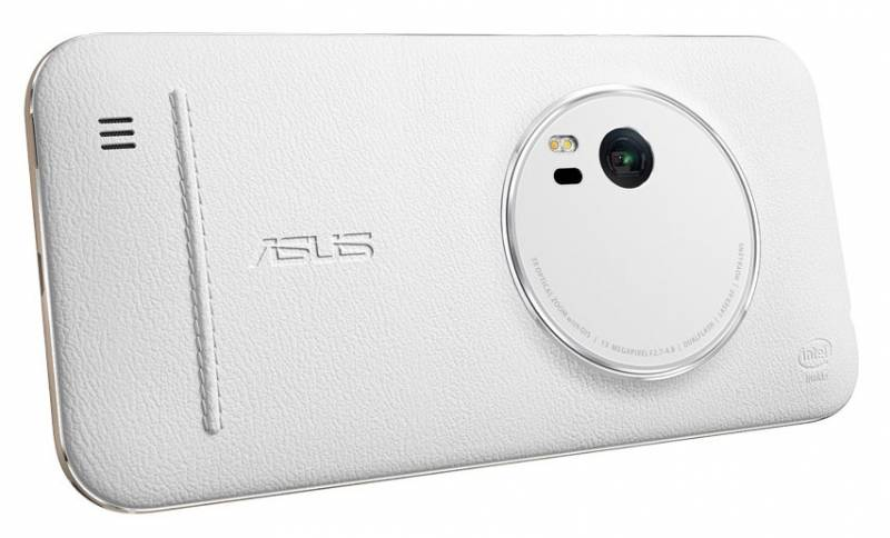 ASUS ZenFone ZX551ML Leather Case, белый