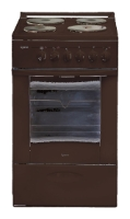 Плита Lisva ЭП 4/1э03 М2С BN, коричневая (без крышки) 4/1э03 М2С коричневая