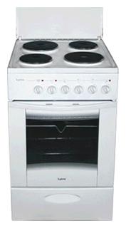 Плита Lisva ЭП 403 МС, белая ЭП 403 МСбелая