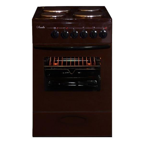 Плита Lisva ЭП 4/1э3р3 МС, коричневая ЭП 4/1э3р3 МС коричневая