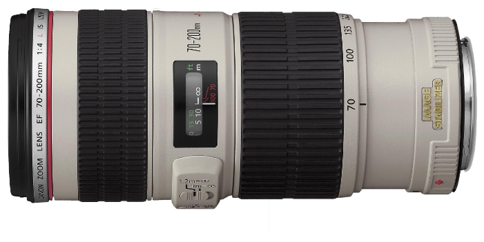 Объектив для фото Canon EF 70-200mm f/4L IS USM (1258B005)