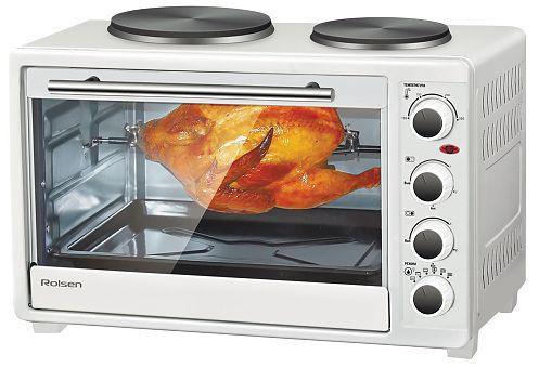 Мини-печь, ростер Rolsen KW-3026HP 30л. 1500Вт белая