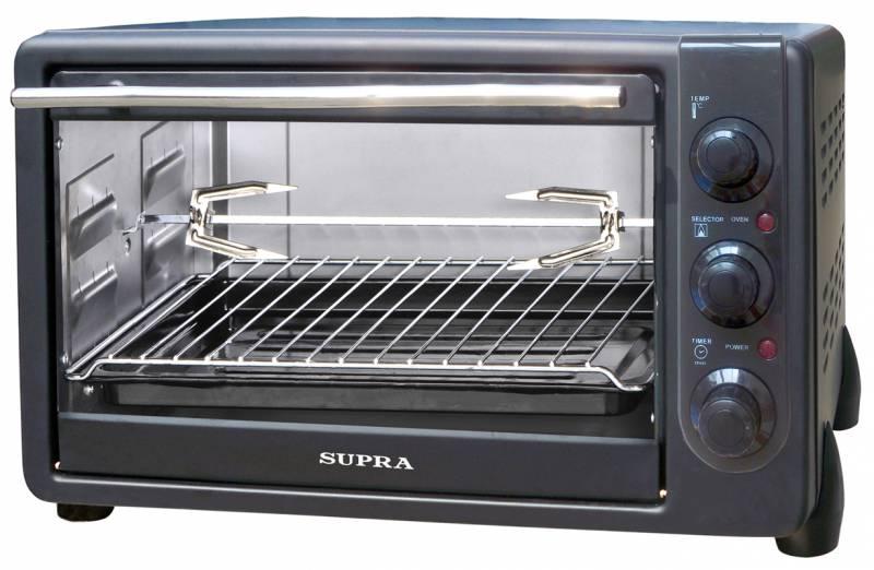 Мини-печь, ростер SUPRA Мини-печь MTS-340 34л. 1600Вт черный MTS-340 черный