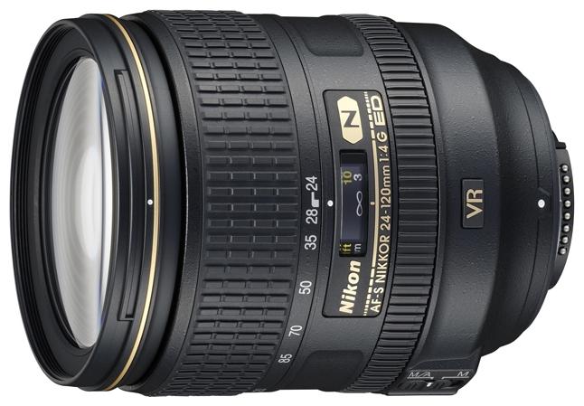 Объектив для фото Nikon 24-120mm f/4G ED VR II AF-S Nikkor JAA811DA