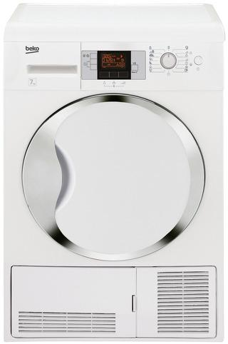 Сушильная машина для белья BEKO DCU7332C белый