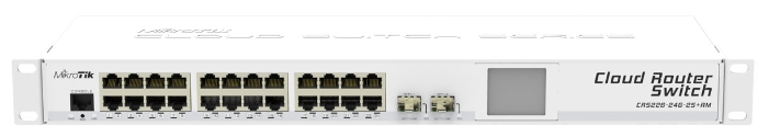 Коммутатор (switch) MikroTik CRS226-24G-2S+RM