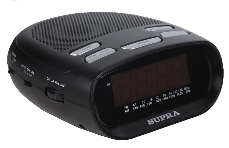 Радиоприемник SUPRA SA-32FM, черный