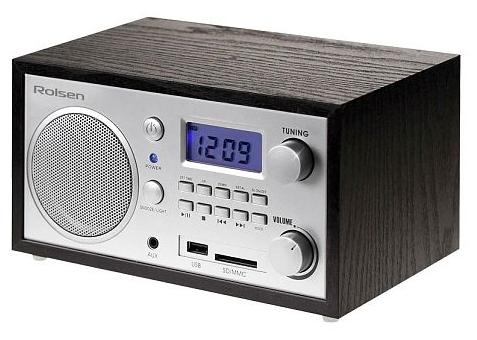 Радиоприемник Rolsen RFM-300, венге 1-RLDB-RFM-300