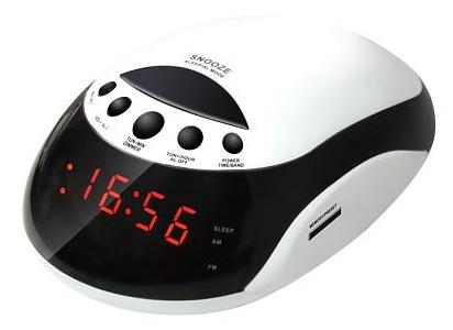 Радиоприемник Rolsen Радиобудильник CR-160, белый 1-RLDB-CR-160W