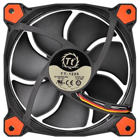 Кулер Thermaltake Riing 12 LED Red (CL-F038-PL12RE-A)