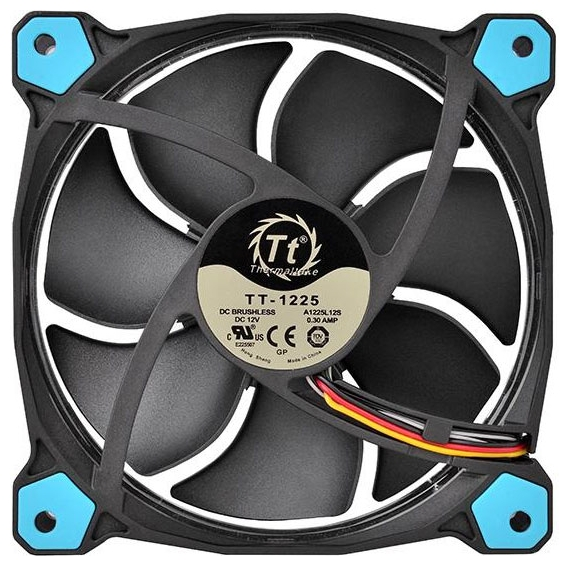 Кулер Thermaltake Riing 12 LED Blue (CL-F038-PL12BU-A)