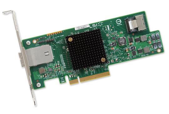 Контроллер LSI-LOGIC 9207-4I4E (4 + 4, SAS/SATA, для сервера) H5-25434-00