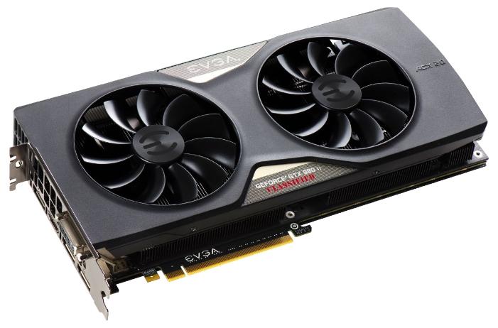 ���������� GeForce EVGA GeForce GTX 980 Ti 1190Mhz PCI-E 3.0 6144Mb 7010Mhz 384 bit DVI HDMI HDCP 06G-P4-4998-KR