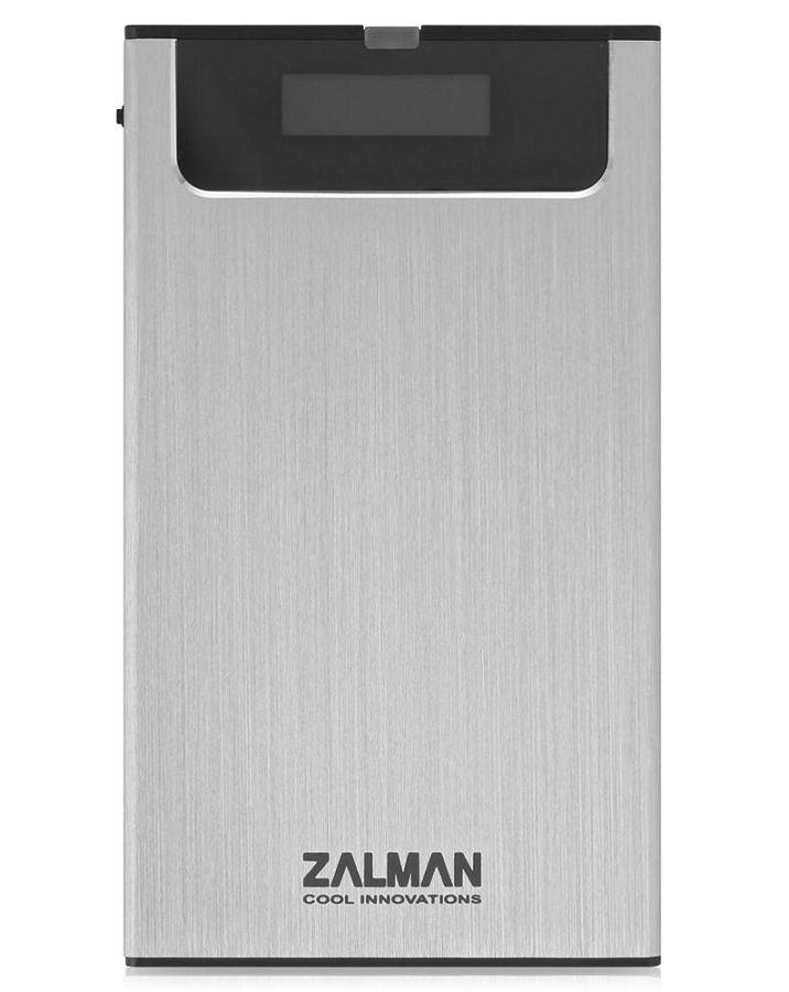 Корпус жесткого диска Zalman ZM-VE350 (microUSB 3.0, 2.5''), серебристый ZM-VE350 SILVER