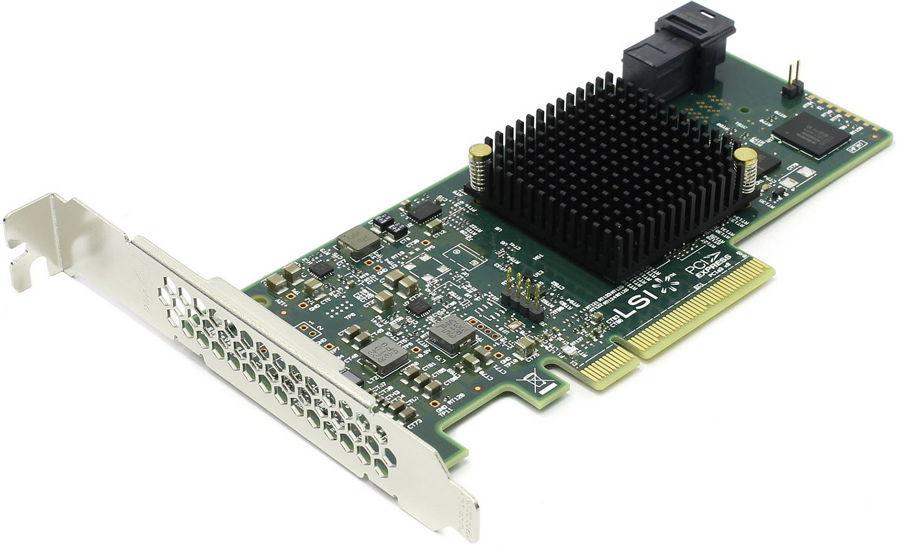 Контроллер LSI-LOGIC SAS 9300-4i (PCI-e - SAS / SATA) LSI00346