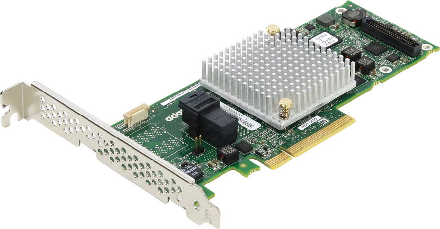 Контроллер Adaptec ASR-8405 (PCI-e - SAS/SATA, RAID 0-60), oem 2277600-R