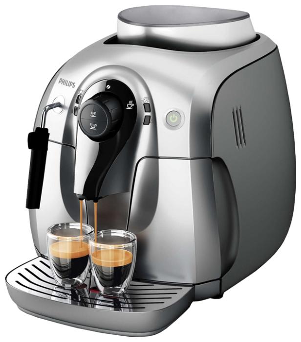 Кофемашина Philips HD8649/01 серебристая HD8649/51