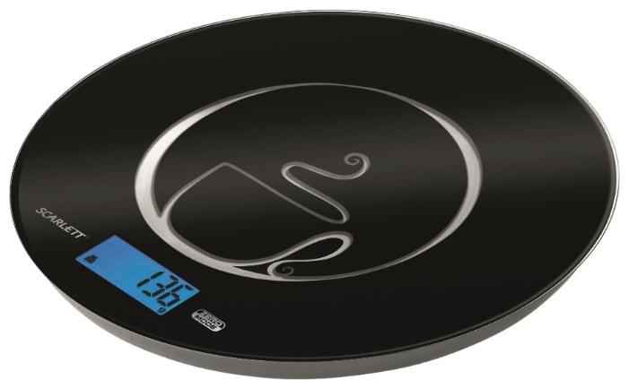 Кухонные весы Scarlett SC - 1215 черные SC-1215 черный